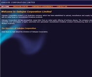 Oakajee Corporation Limited Website Link