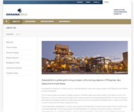OceanaGold Corporation Website Link