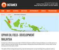 Octanex Limited Website Link
