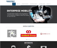 Isentric Limited Website Link