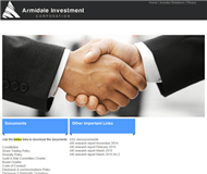 Armidale Investment Corporation Limited Website Link