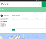 Vango Mining Limited Website Link