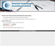 Oriental Technologies Investment Limited Website Link