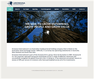 Arowana International Limited Website Link