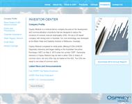 Osprey Medical Inc Website Link