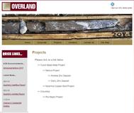 Overland Resources Limited Website Link