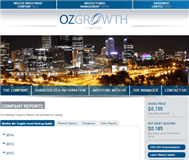 Ozgrowth Limited Website Link