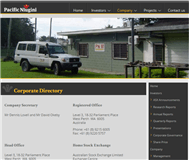 Pacific Niugini Limited Website Link