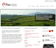 Pan Asia Corporation Limited Website Link