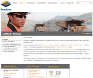 PanAust Limited Website Link