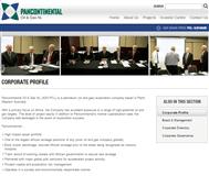 Pancontinental Oil & Gas NL Website Link