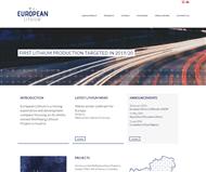 European Lithium Limited Website Link