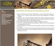 Paynes Find Gold Limited Website Link
