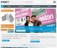 Peet Limited Website Link