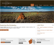 Pegasus Metals Limited Website Link