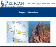 Pelican Resources Limited Website Link