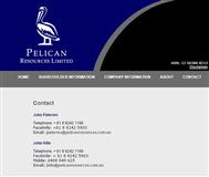 Pelican Resources Limited Website Link