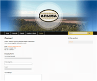 Aruma Resources Limited Website Link