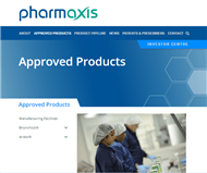 Pharmaxis Ltd Website Link