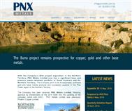 PNX Metals Limited Website Link