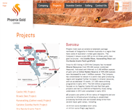 Phoenix Gold Limited Website Link