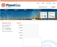 Planet Gas Limited Website Link
