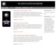 Planet Platinum Limited Website Link