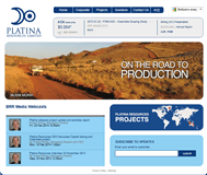 Platina Resources Limited Website Link