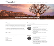 Metalicity Limited Website Link