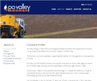 PO Valley Energy Limited Website Link