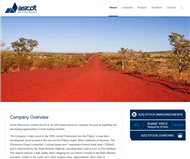 Ascot Resources Limited Website Link