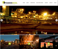Poseidon Nickel Limited Website Link