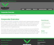 Parkway Minerals NL Website Link