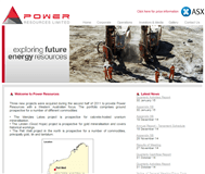 Power Resources Limited Website Link