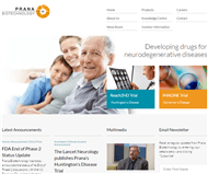 Prana Biotechnology Limited Website Link