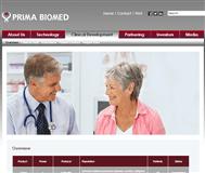Prima Biomed Ltd Website Link