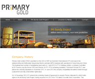 Primary Gold Limited Website Link