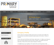 Primary Gold Limited Website Link