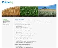 PRIMEAG AUSTRALIA LTD Website Link