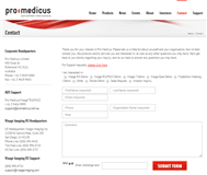 Pro Medicus Limited Website Link