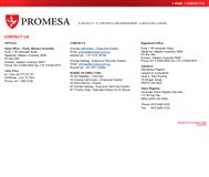 Promesa Limited Website Link
