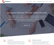 Prophecy International Holdings Limited Website Link