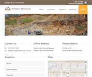 Prospect Resources Limited Website Link