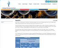 Indago Energy Limited Website Link