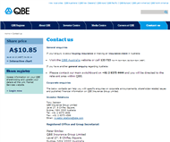 QBE Insurance Group Limited Website Link