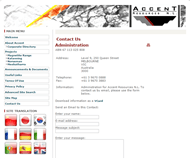 Accent Resources NL Website Link