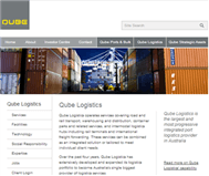 Qube Holdings Limited Website Link