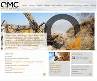 Queensland Mining Corporation Limited Website Link