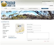 Radar Iron Limited Website Link