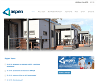 Aspen Group Website Link